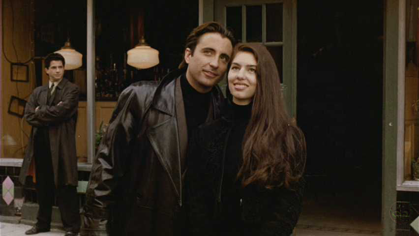With Andy Garcia